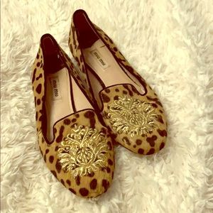 Miu Miu smoking loafers